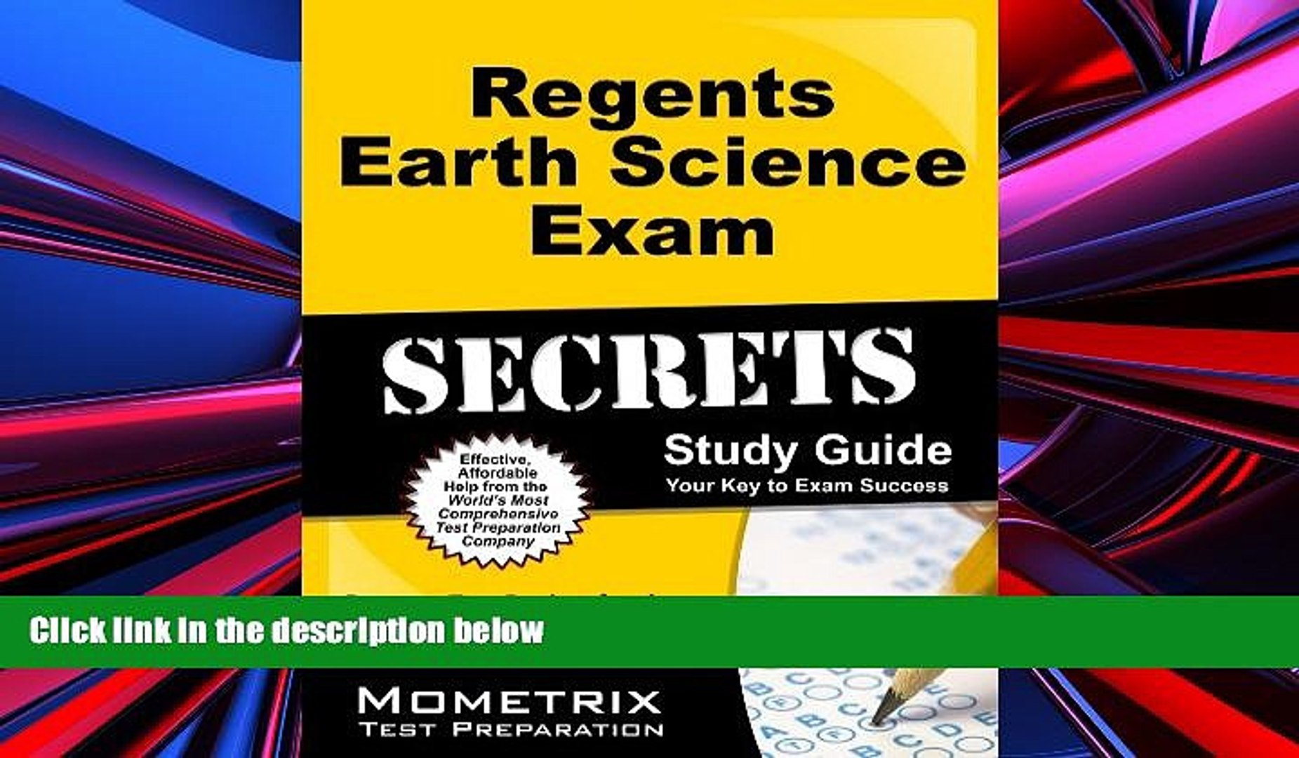 Pre Order Regents Earth Science Exam Secrets Study Guide: Regents Test  Review for the Regents