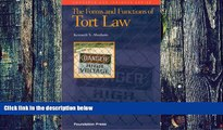 PDF  The Forms and Functions of Tort Law (Concepts   Insights) Kenneth S. Abraham  Book