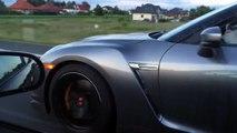 HONDA Civic EK4 swap K24 + GT35 (450hp) vs NISSAN GT-R R35 NISMO (600hp)...