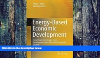 Buy NOW  Energy-Based Economic Development: How Clean Energy can Drive Development and Stimulate