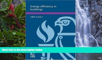 Online Chartered Institution Of Building Services Engineers Staff Energy Efficiency in Buildings