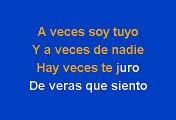 Alejandro Sanz - Cuando nadie me ve (Karaoke)