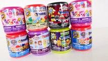 8 Surprise Eggs Fashems Mashems MLP TMNT Disney Princess Sofia Paw Patrol Power Rangers