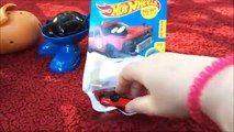 Mr. Potatohead and Surprise Egg Opening with Hot Wheels Fun Play Time!