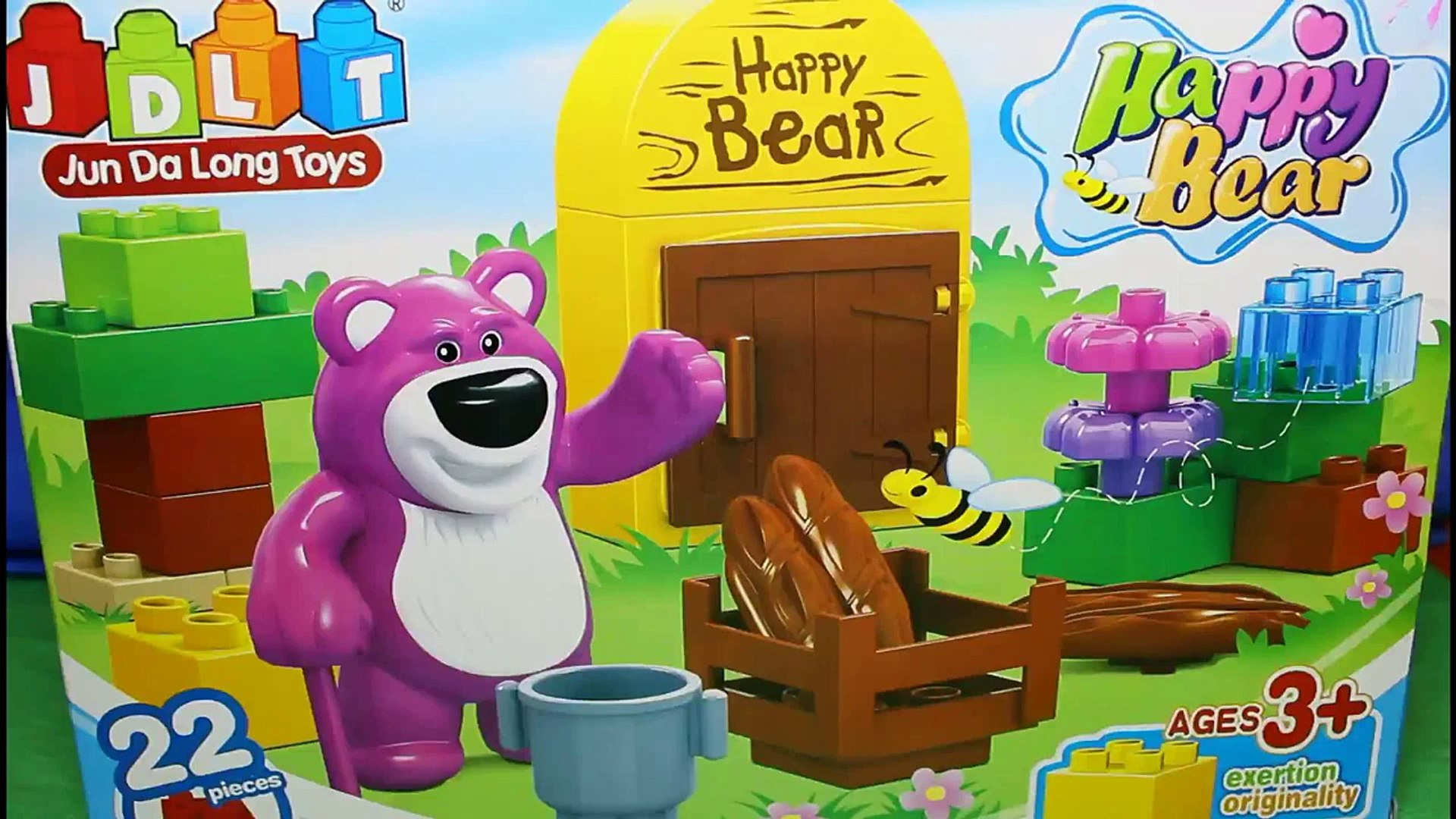 Kids Toys Lego Happy Bear Creative Education