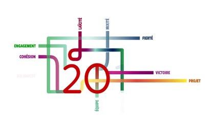Carte de voeux du ministère de la ville de la jeunesse et des sports