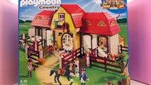 Ecurie Playmobil Country français – Unboxing et commentaires – Présentation de la gigantesque écurie
