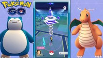 Pokemon Go - Legendary Battle MAX Gym Lv9 SNORLAX Taking Over