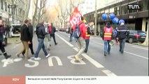 Secourisme : Manifestation des sapeurs-pompiers (Lyon)