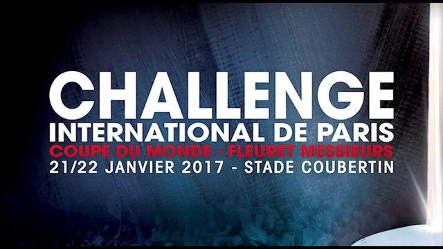 Teaser Challenge International de Paris 2017