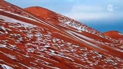Aïn Séfra sous la neige