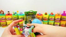 GIANT Kung Fu Panda 3 Po Surprise Egg Play Doh - Disney Pixar Minions The Trash Pack HD