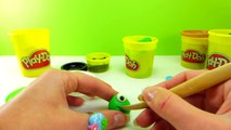 Play-Doh Mike Wazowski / Monster University Step-By-Step Creation