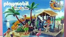Playmobil Family Fun Ile merveilleuse avec possibilité de baignade et super toboggan | Construction