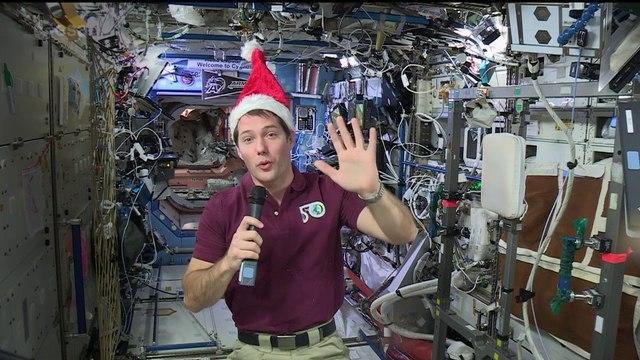 Thomas Pesquet's space Christmas message