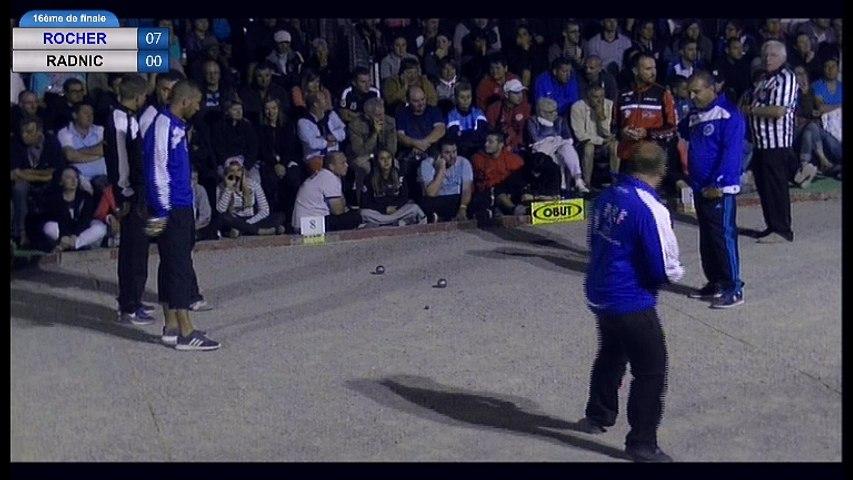 International de la Ville d'Espalion 2016 : 16ème ROCHER vs RADNIC