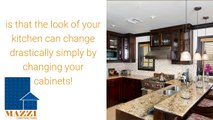 Mazzi presents Kitchen Remodeling in Wayne Change Your Cabinets to Change Your Kitchen