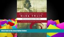 Pre Order The Complete Essays Of Mark Twain Mark Twain On CD
