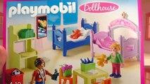 Aménager la maison de Playmobil | Chambre denfants multicolore et salle de bain romantique | Démo