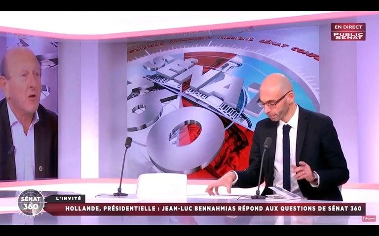 Hollande à la présidentielle ? Jean-Luc Bennahmias est l'invité de Public Sénat