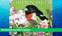 Hardcover 2016 Garden Birds Wall Calendar Full Book