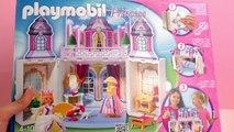 Construction Playmobil – Construction du petit château de princesse pliable