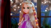 Jakks Pacyfic - Disney Princess - Hair Glow Rapunzel / Roszpunka Błyszczące Włosy - TV Toys