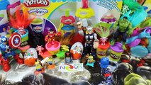 Kinder Surprise Eggs Joy (İron Man Hulk Marvel & Mickey mouse) Play - Doha Huevos Sorpresa