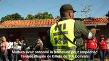 Venezuela: la frontière avec la Colombie est rouverte