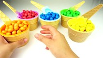 Colors M&Ms Pretend Ice Cream Cups Surprise Toys Paw Patrol, Minions,Sponge Bob, Lightning McQueen,
