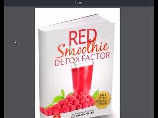 Liz Swann Miller Red Smoothie Detox Factor Review