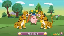 小蓓蕾组合 - 两只老虎Frère Jacques Chinese Version- two tigers