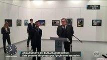 Polícia da Turquia prende sete pessoas ligadas a assassino de embaixador russo