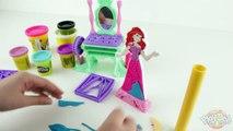 ♥ Play-Doh Disney Princess Ariels Vanity Set Playdough Disney Princess Ariels