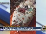 Quintuplets born at Phoenix hospital