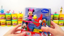 GIANT Donald Duck Play-Doh Surprise Egg ; Daisy Duck Minnie Mouse Smurfs Yoohoo Looney Tunes