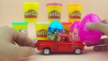 SURPRISE EGGS | HELLO KITTY | BARBIE | MICKEY MOUSE | RED TRUCK