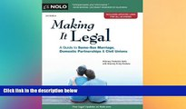 Buy  Making It Legal: A Guide to Same-Sex Marriage, Domestic Partnerships   Civil Unions Frederick