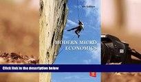 BEST PDF  Modern Micro Economics READ ONLINE