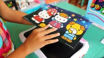 Hello Kitty Magna Color 3D Magnetic Design Station | Hello Kitty Kids Toys