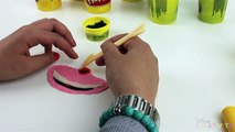 Disney Alice In Wonderland Cheshire Cat Smile PLAY DOH Funny Plasticine Creations 2016