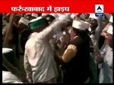 Congress workers clash with Arvind Kejriwal & IAC supporters in Farrukhabad