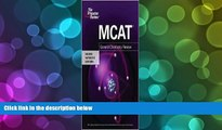 Price MCAT General Chemistry Review Publisher: Princeton Review; Pap/Psc edition Princeton Review