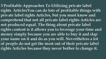 Private Label Rights Article Source For Business Torquay, United Kingdom