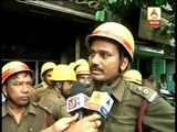 Fire in a restaurant in Shyambazar: a fire brigade worker says, there was no fire fighting equipment