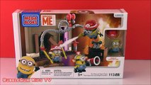 MINIONS TOYS new DESPICABLE ME FIRE RESCUE MEGA BLOKS! Illumination MINIONS Unboxing Opening