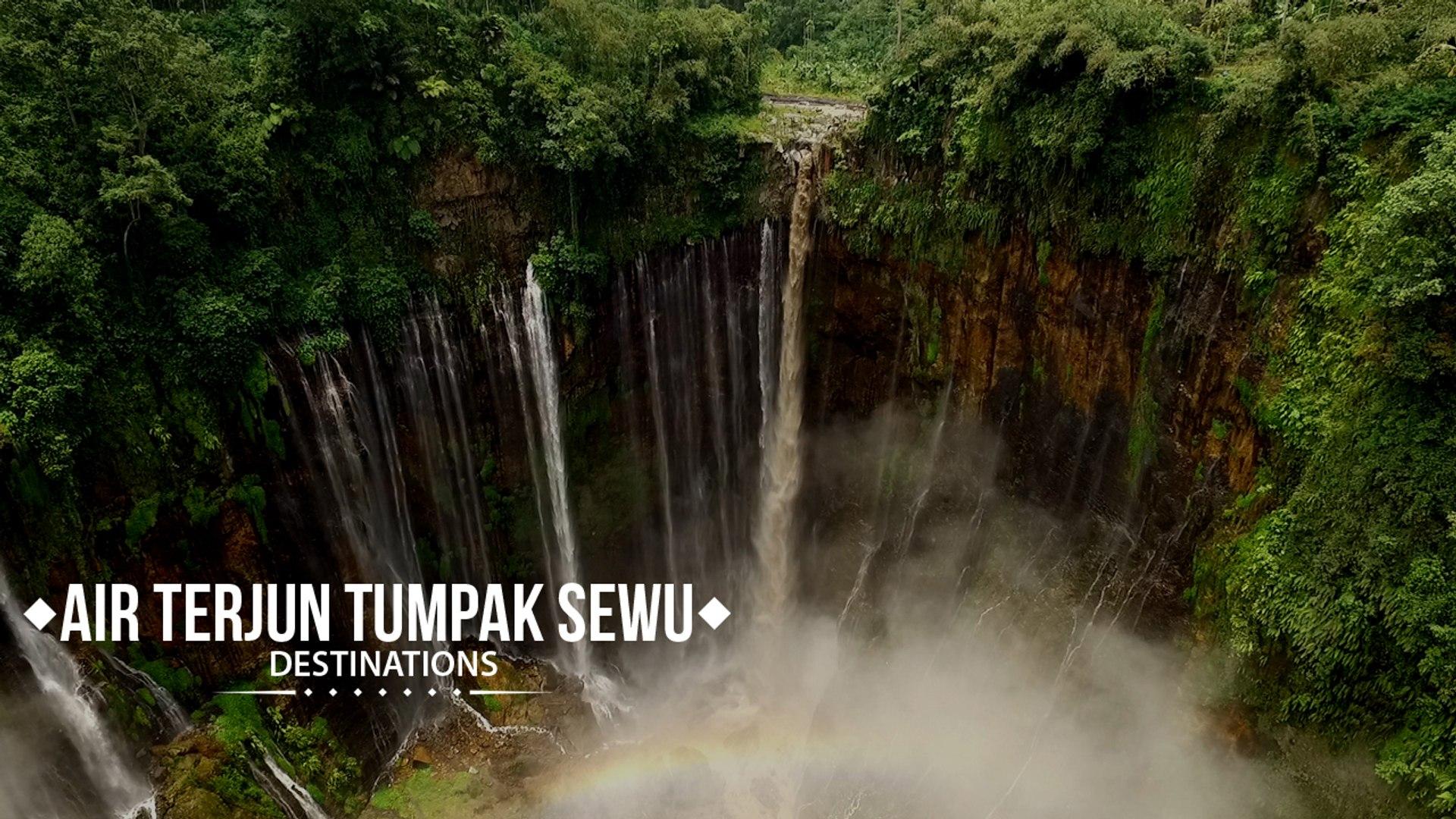 Air Terjun Tumpak Sewu Niagara Nya Indonesia Video Dailymotion