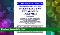 Download James J. Rigos Rigos Primer Series Uniform Bar Exam (UBE) Review Series Multistate Bar