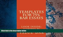 Best Price Templates For 75% Bar Essays: Create  the 75% essay even on the fly Value Bar On Audio