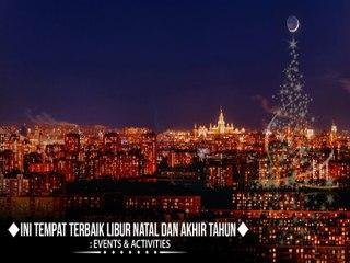 Moskow jelang Natal dan Tahun Baru